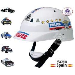 INJUSA Dziecięcy KASK Rowerowy POLICJA