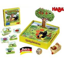 Haba Gra Planszowa w Ogrodzie Zbieramy Wiśnie Drzewko Kruk