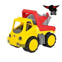 BIG Ciężarówka Kontenerowiec miękkie koła idealny do przedszkola