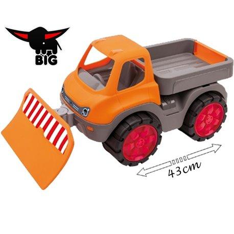 Big Ciężarówka Wywrotka Spychacz Samochód miękkie koła