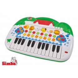 SIMBA ABC Pianino ze zwierzątkami Nagrywanie