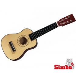 SIMBA Drewniana gitara Strunowa Niebieska