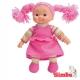 Simba Lalka Pyzatka Szmacianka - Ciemno różowa Sukienka