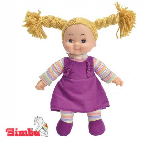 Simba Lalka Pyzatka Szmacianka - Fioletowa Sukienka