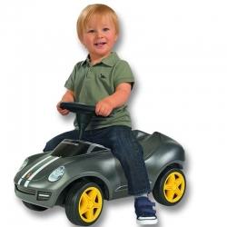 BIG Jeździk Bobby Car Porsche ciche koła + klakson