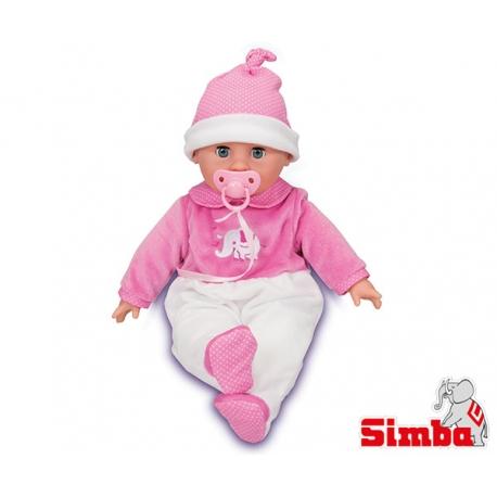 SIMBA Lalka Laura Śpiąca i Gaworząca