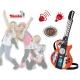 Simba Gitara elektryczna światło dźwięk z możliwością podł MP3
