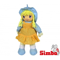 Simba Lalka Szmacianka Dolly Pomarańczowa