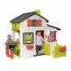 ***Smoby Domek Ogrodowy dla dzieci Friends House Floralie wysoki