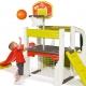 Smoby Wielofunkcyjny Plac Zabaw Zjeżdżalnia Domek Koszykówka