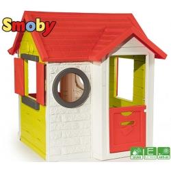 SMOBY Domek ogrodowy My House dzwonek z dźwiękiem