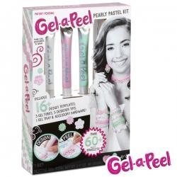 Gel-A-Peel Perłowy Magiczny Zestaw Perłowe Pastele 3 w 1 Zaprojektuj Nałóż Oderwij REKLAMA