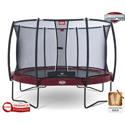 BERG Trampolina Elite+ Tattoo 430 cm T-Series Twinspring Gold