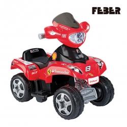 FEBER Quad Ferrari na akumulator 6V