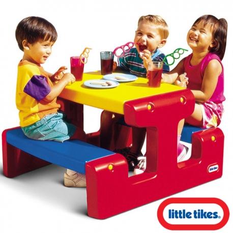 Little tikes Stół - Stolik piknikowy
