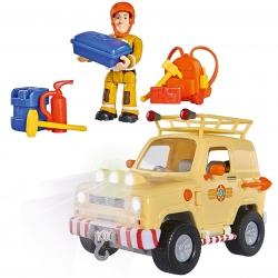 Simba Strażak Sam Jeep Ratunkowy Toms 4x4