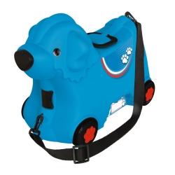 BIG Jeżdżąca walizka Jeździk Bobby Trolley Czerwona