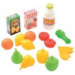 Ecoiffier Zestaw Owoców i Warzyw w siatce