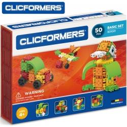 CLICFORMERS Klocki konstrukcyjne 50 elementów