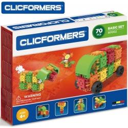 CLICFORMERS Klocki konstrukcyjne 70 elementów