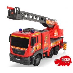 Straż pożarna Fire Engine Dickie z pompką Air Pump