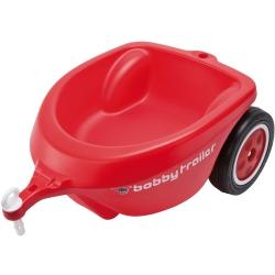 BIG Przyczepka do jeździka New Bobby Car czerwona