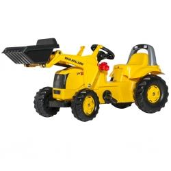 ROLLY TOYS Traktor Na Pedały Kid 2-5 Lat New Holland Łyżka