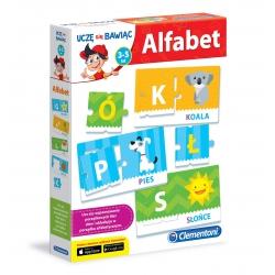 Alfabet Edukacyjna gra dla dzieci Clementoni