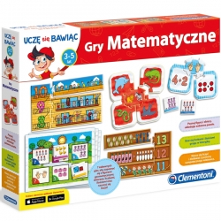 Clementoni Gry Matematyczne gra edukacyjna