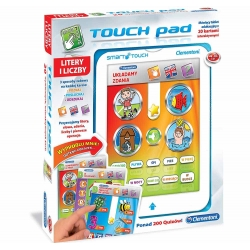 Clementoni Tablet interaktywny Touch Pad panel PL/ENG słowa liczby