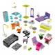 KidKraft Domek dla lalek de luxe Rezydencja ze światłem i dźwiękiem