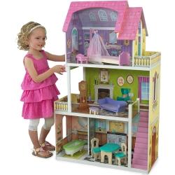 Drewniany domek dla lalek Florence z akcesoriami KidKraft