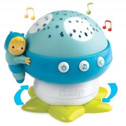 Smoby Cotoons Lampka nocna grzybek z projektorem kolor niebieski
