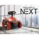 Nowoczesny jeździk BIG Bobby Car Next Światła LED