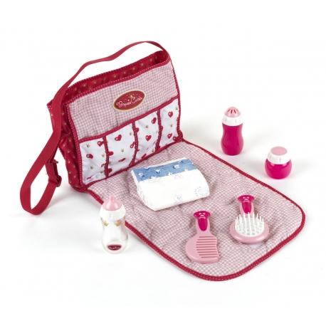 Zestaw do pielęgnacji lalki Princess Coralie w praktycznej torbie
