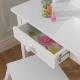 KidKraft Drewniana Toaletka z krzesełkiem dla dziewczynek