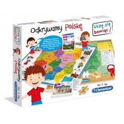 Odkrywamy Polskę Edukacyjna układanka Clementoni