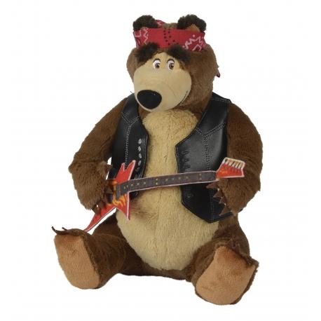 Simba Rockowy Niedźwiedź Misza z gitarą