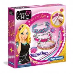 Zestaw do tworzenia Biżuterii Rock Crazy Chic Clementoni
