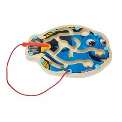 Eichhorn drewniany labirynt magnetyczny w kształcie rybki