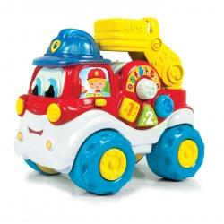 Clementoni samochód edukacyjny Adaś Dzielny Strażak