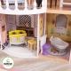 Duża drewniana rezydencja dla lalek Magnolia światło + dźwięk KidKraft