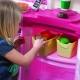 Step2 Elektroniczna Kuchnia Zabawa Z Przyjaciółmi - Różowa