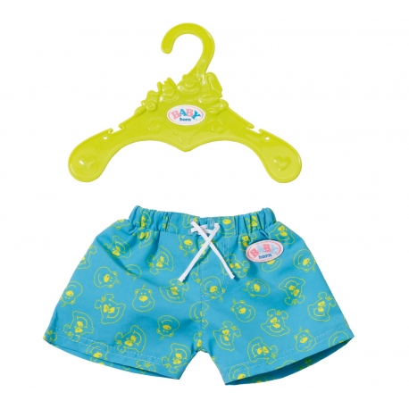 Szorty kąpielowe dla lalki Baby Born 43 cm w kolorze niebieskim