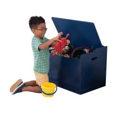 KidKraft Drewniana skrzynia na zabawki Austin Granatowa