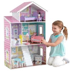 KidKraft Drewniany domek dla lalek Glendale Manor