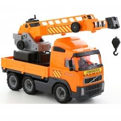 Wader Samochód holownik Ciężarówka Dźwig 52 cm