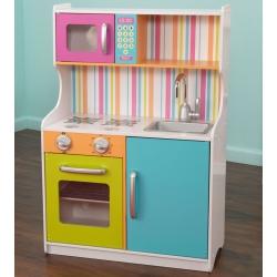 Kidkraft Drewniana kolorowa Kuchnia Bright Toddler