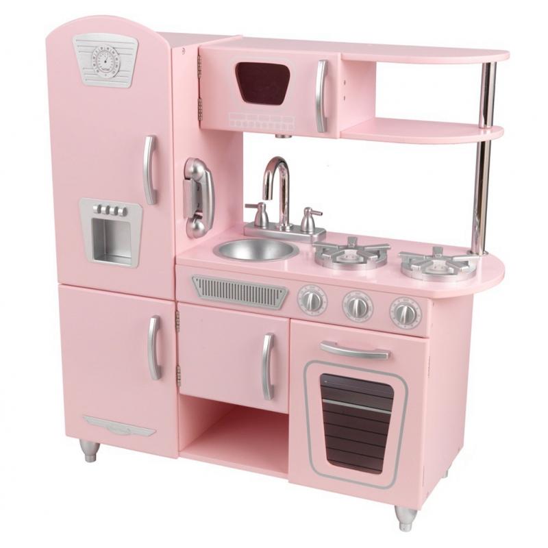 Kidkraft Drewniana Kuchnia Dla Dzieci Pink Vintage Leker