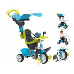 Smoby rowerek Baby Driver trzykołowy Niebieski